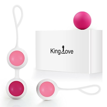 King love Silikon Liebeskugeln gegen Beckenbodenschäche